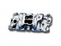 Weiand 8024 - Chevy 262-400ci Small Block V8